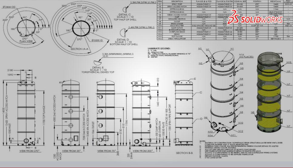 Bill of Materials (BOMs) for Separator