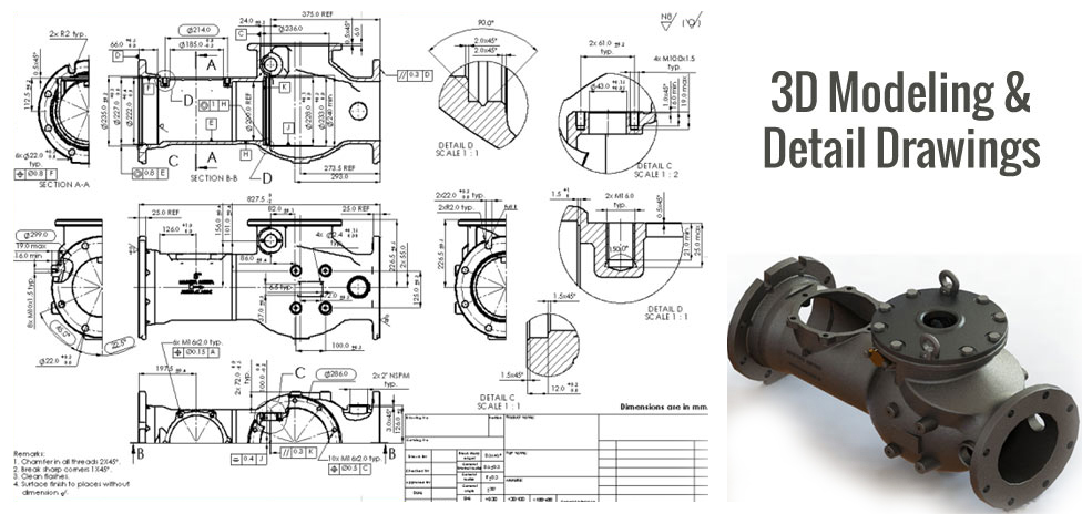 Top-notch Mechanical CAD Drafting & CAD Conversion for the Solid Product Manufacturer
