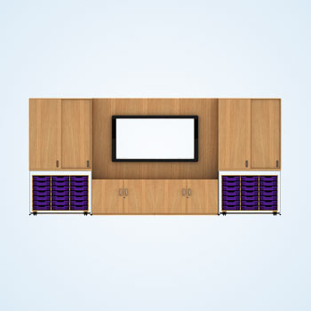 Bespoke TV Cabinet Design Drafting