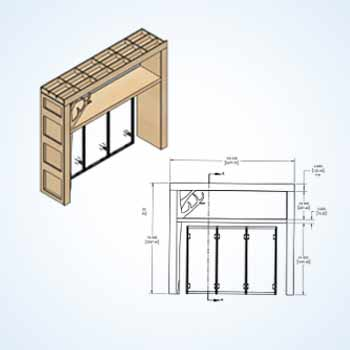 Windows Design & Joinery Shop Drawings