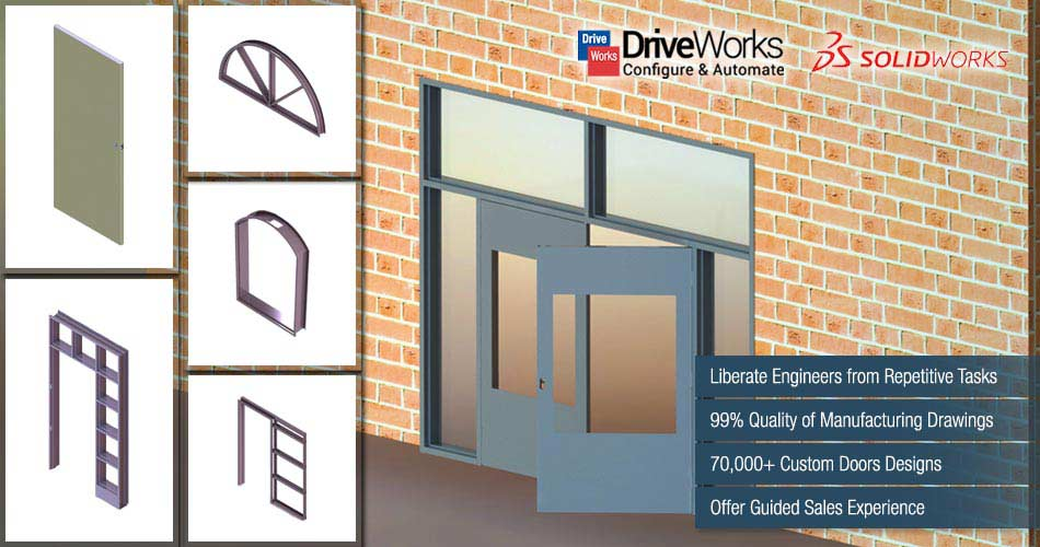 Design Automation of Custom Hollow Metal Doors Frames using DriveWorks