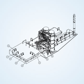 Mechanical 2D Drafting of Plant