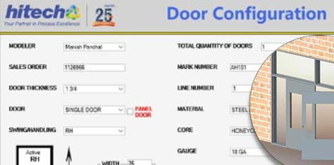 Developed Product Configurator For Custom Door Manufacturer