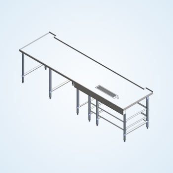 Stainless Table Design Drafting
