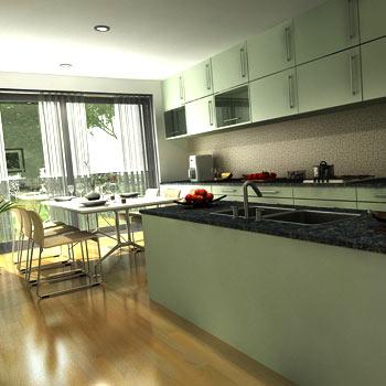 Kitchen Cabinet Modeling
