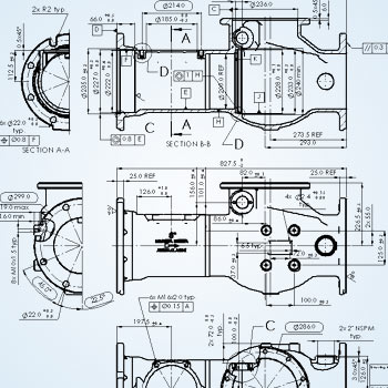 2D Drafting of Component