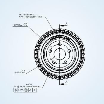 CAD Conversion for Automotive Part