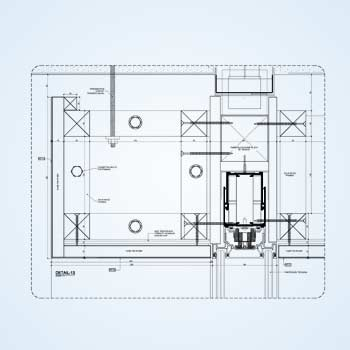 Millwork Shop Drawings for Commercial Office