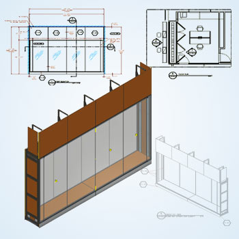Furniture Drafting Detailing for Museum