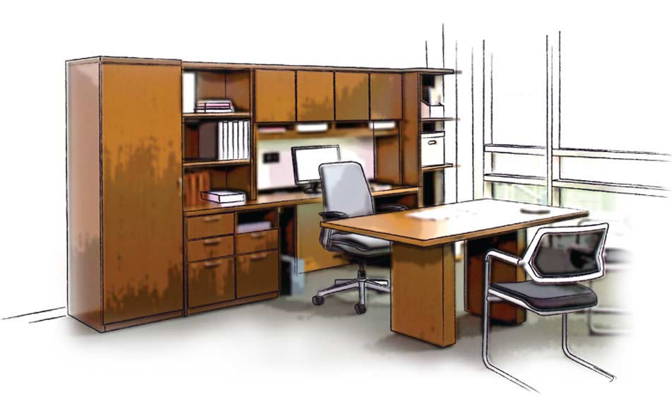 Commercial Office Furniture Design Services