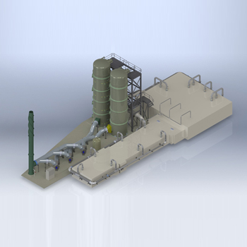 Recycling Plant Design