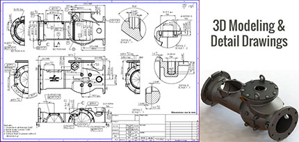 3D Modeling & Detail Drawing