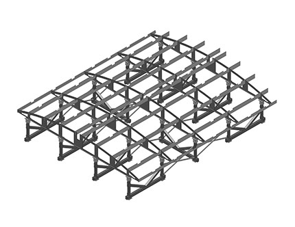 Sheet Metal Roof Structure
