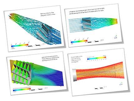 Nozzle Flow Analysis