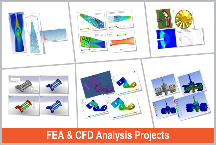 FEA & CFD Analysis Projects