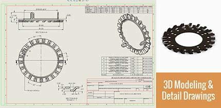 3D Modeling & Detail Drawings