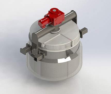 3D Model of Food Process Equipment