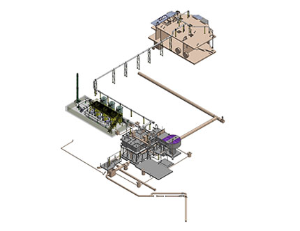 3D Model of Water Treatment Plant