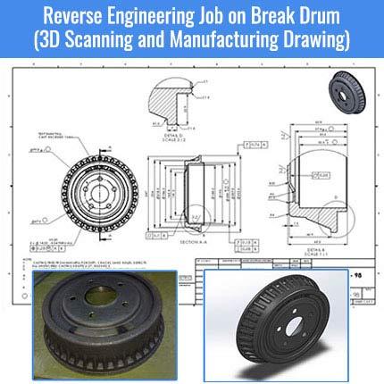 Reverse Engineering of Break Drum