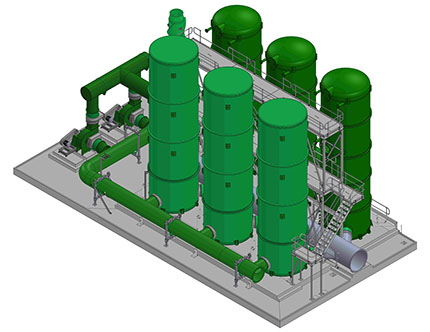 Water Treatment Processing Plant