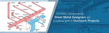 10 HVAC Components, Sheet Metal Designers are Cautious with in Ductwork Projects