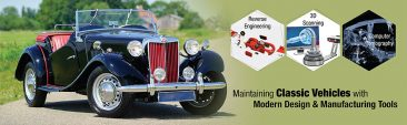 Maintaining Classic Vehicles with Modern Design & Manufacturing Tools
