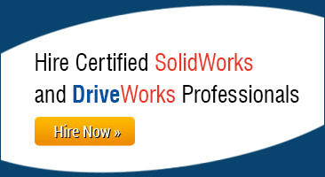 Hire SolidWorks / DriveWorks Professionals