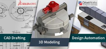 SOLIDWORKS & DriveWorks for your CAD Drafting, Modeling & Design Automation Needs