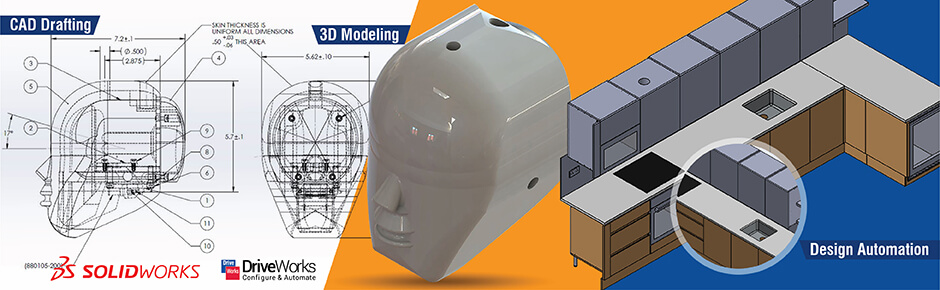 Drafting, Modeling and Design Automation with SolidWorks and DriveWorks