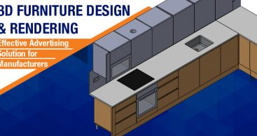3D Furniture Design and Rendering: Effective Advertising Solution for Manufacturers