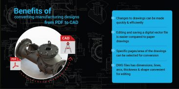 How & Why Should you Convert PDF to CAD for Manufacturing Design Needs?