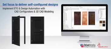 CAD Configurator for Custom Doors to Achieve Right Design Mix