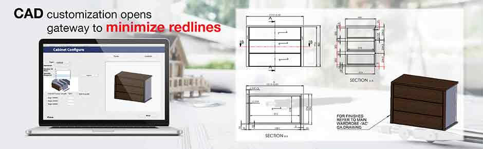 CAD customization opens gateway to minimize redlines