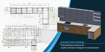 Importance of Casework Shop Drawings for Cabinet Makers and Architects