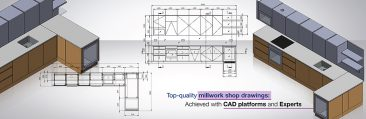 How to Perfect Millwork Drawings for Display Cabinets