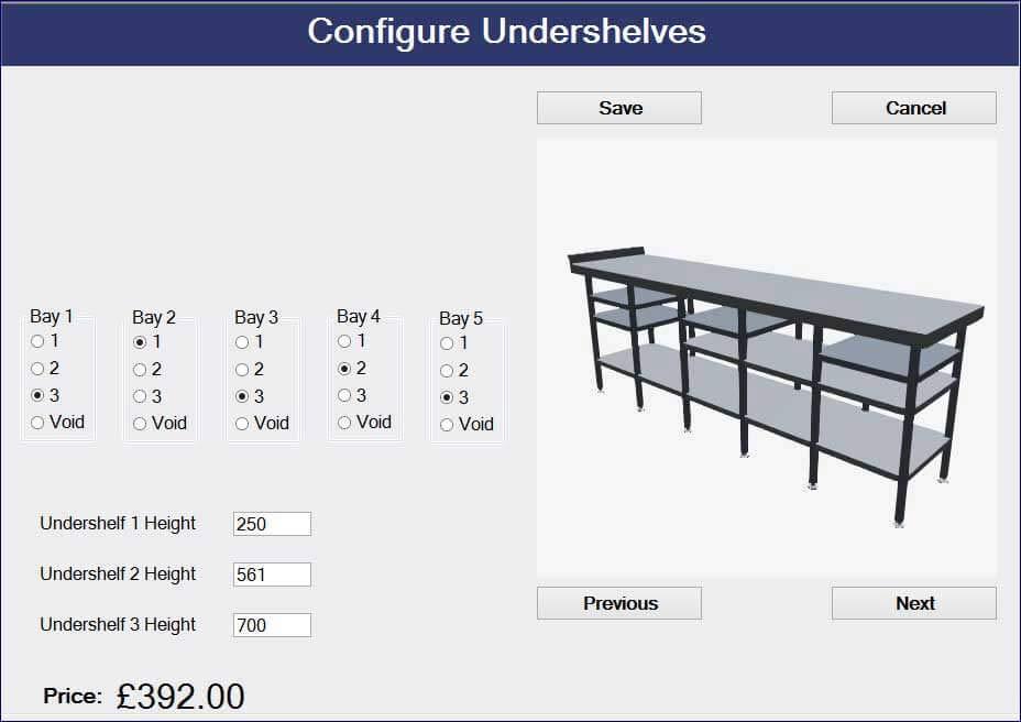 Configurator Development using DriveWorks