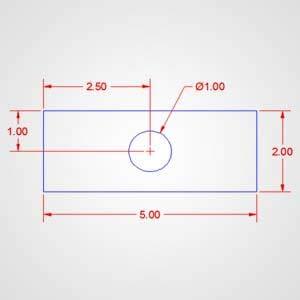 Assigning Dimensional Properties of circle Diameter