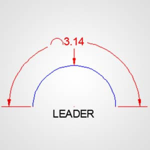 Measuring Arc Length leader